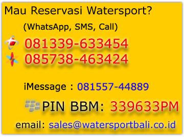 Kontak watersport Bali
