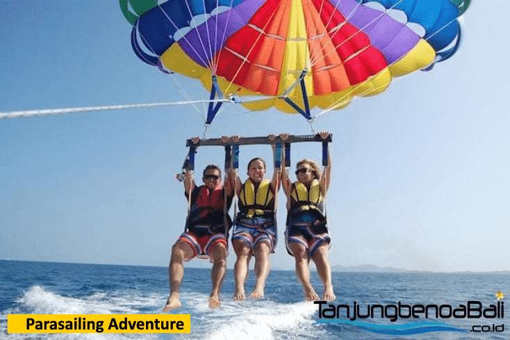 Parasailing Adventure di Tanjung Benoa