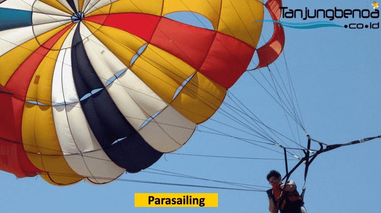 Parasailing single di Tanjung Benoa