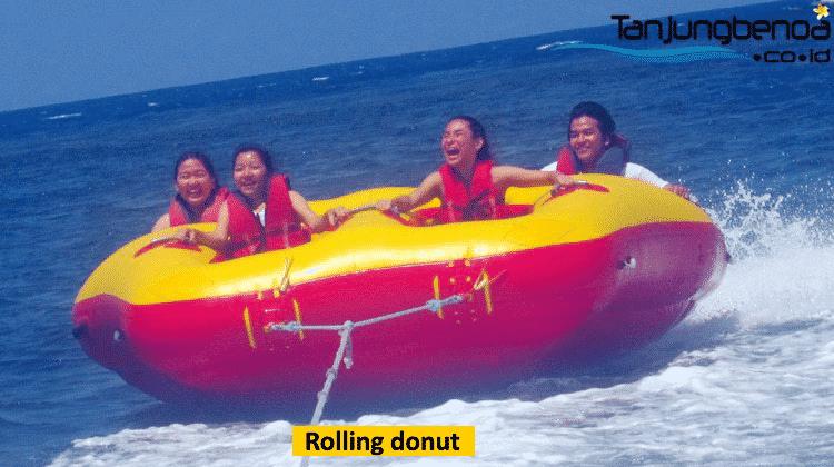 Rolling donut di Tanjung Benoa