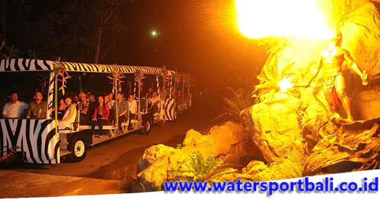 Fire Show di Bali Safari Park